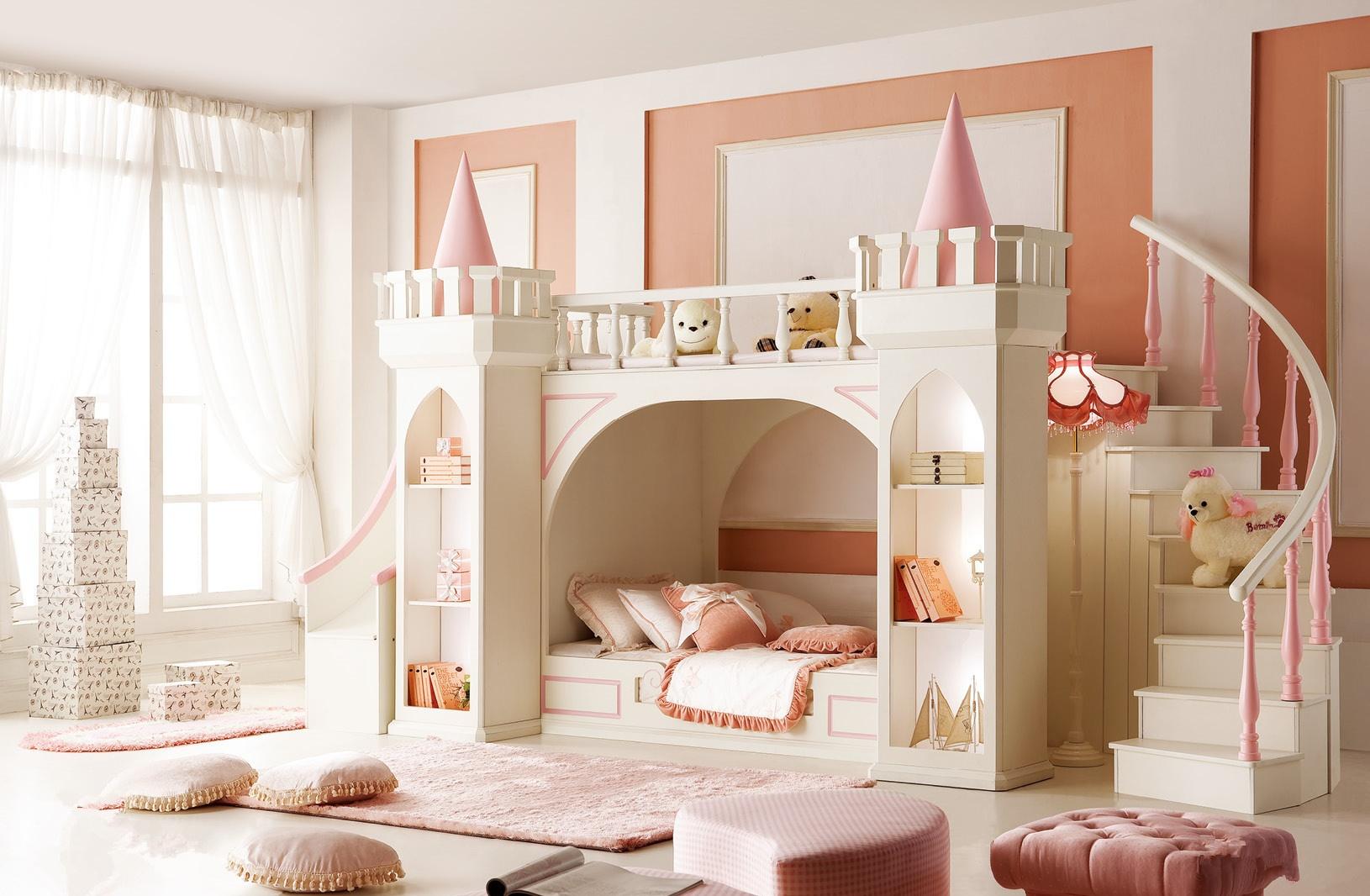 儿童房书柜效果图,让孩子爱上读书!