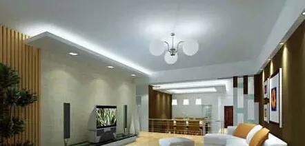 為您推薦簡約的長方形客廳吊頂造型_裝修案例鑒賞