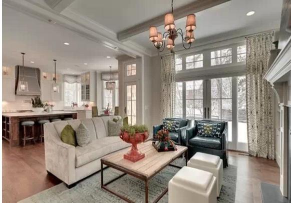 美呆了的客厅欧式装修效果图!