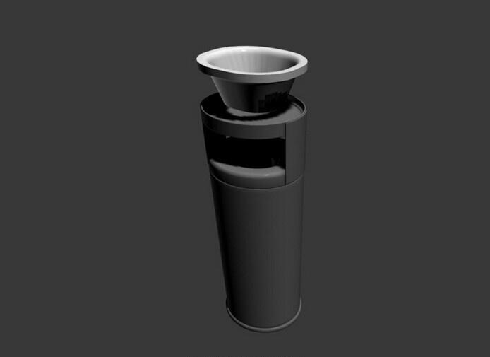 创意室内垃圾桶设计欣赏图片