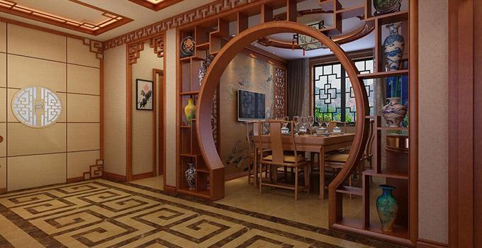 客厅博古架隔断墙可以怎么设计呢