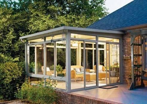 阳光房的3个设计方案