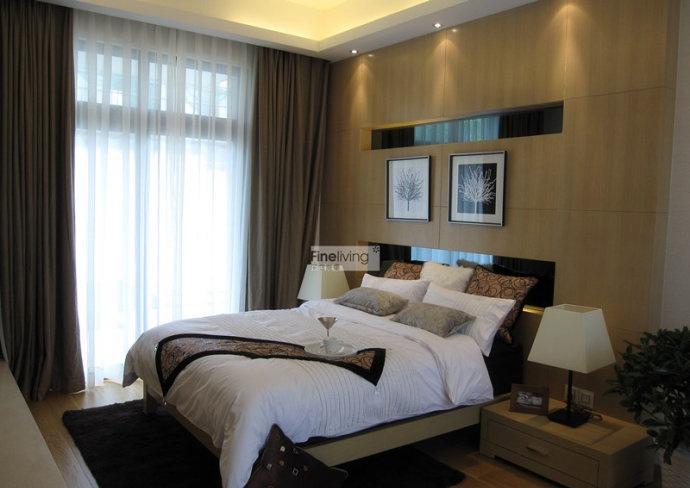 背景墙 房间 家居 酒店 设计 卧室 卧室装修 现代 装修 690_488