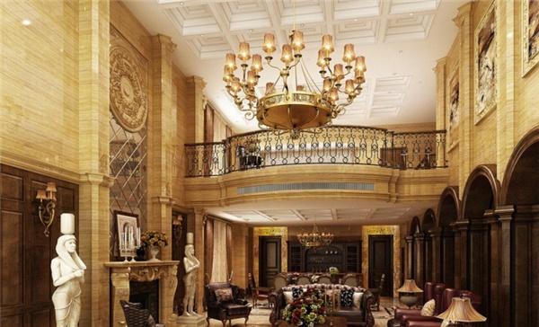 别墅大厅吊灯 设计欣赏