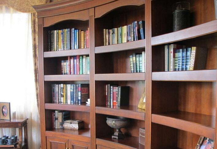 卧室书架效果图欣赏